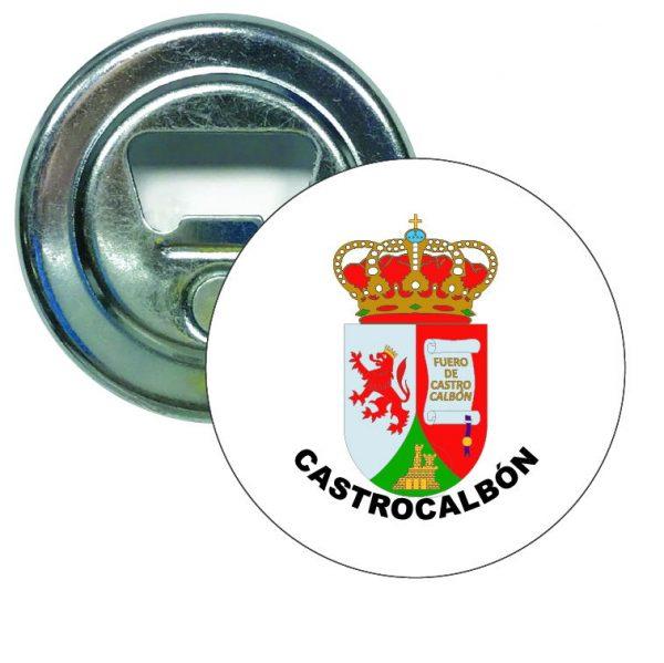 abridor redondo escudo heraldico castrocalbon