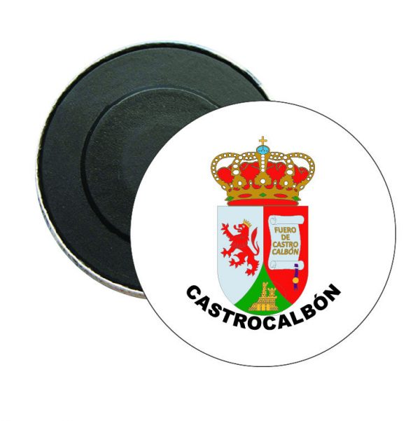 iman redondo escudo heraldico castrocalbon