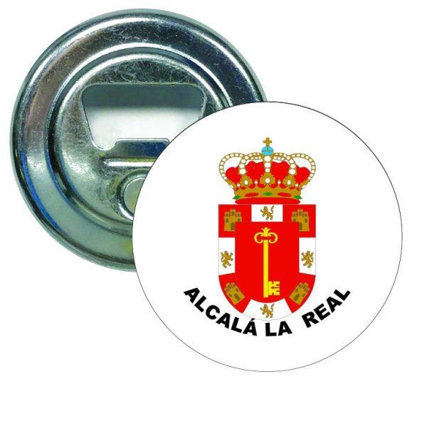 abridor redondo escudo heraldico alcala la real