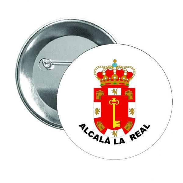 chapa escudo heraldico alcala la real