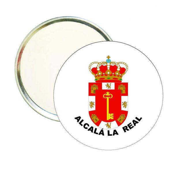 espejo redondo escudo heraldico alcala la real