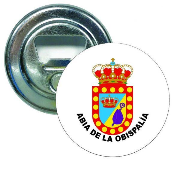 abridor redondo escudo heraldico abia de la obispalia