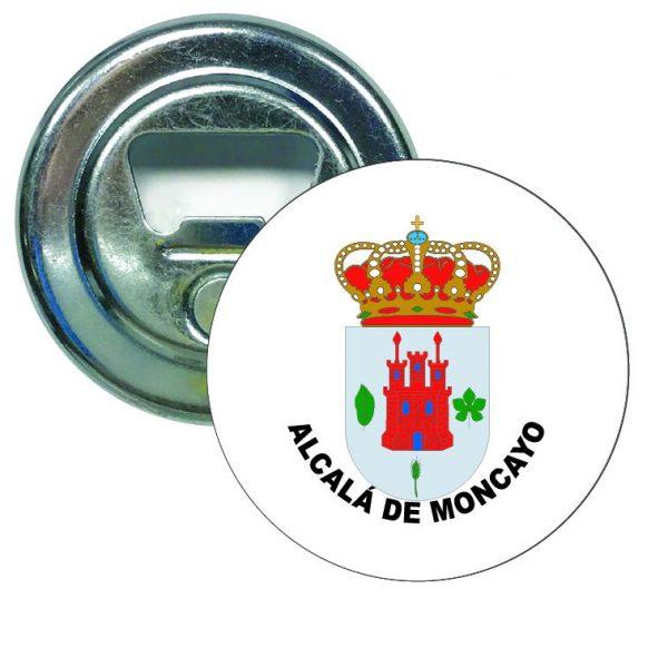 abridor redondo escudo alcala de moncayo