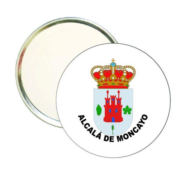 espejo redondo escudo alcala de moncayo