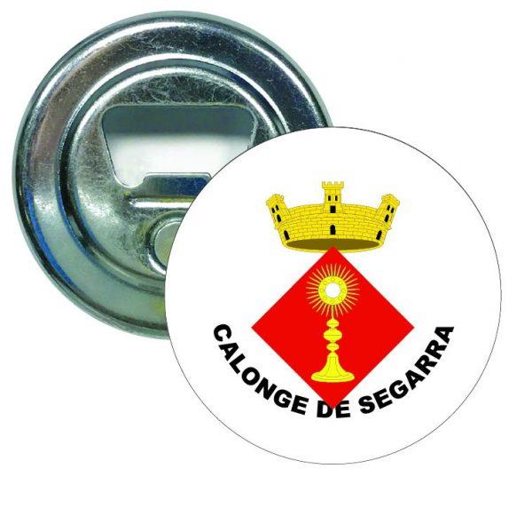 abridor redondo escudo heraldico calonge de segarra