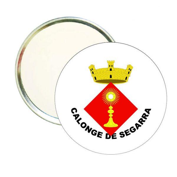 espejo redondo escudo heraldico calonge de segarra