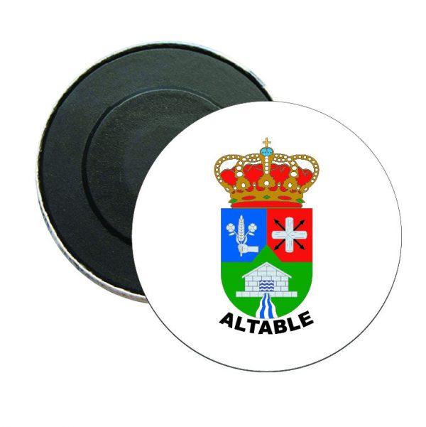 iman redondo escudo heraldico altable