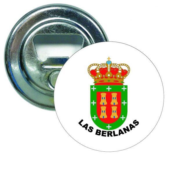 abridor redondo escudo heraldico las berlanas