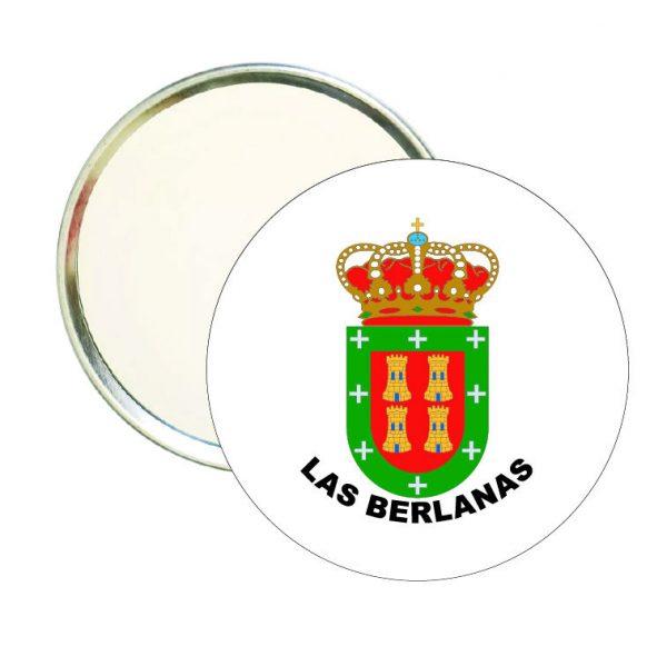 espejo redondo escudo heraldico las berlanas