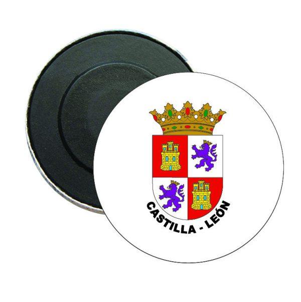 iman redondo escudo heraldico castilla leon