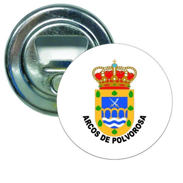 abridor redondo escudo heraldico arcos de polvorosa