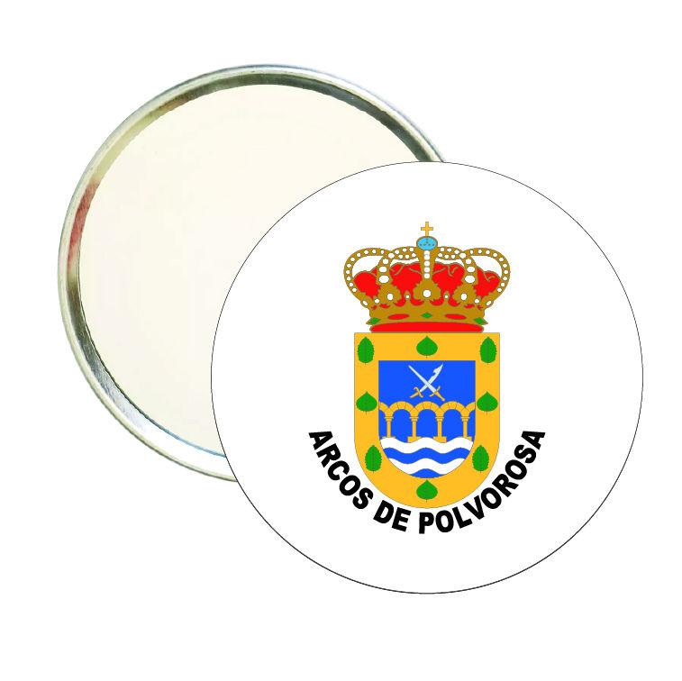 espejo redondo escudo heraldico arcos de polvorosa