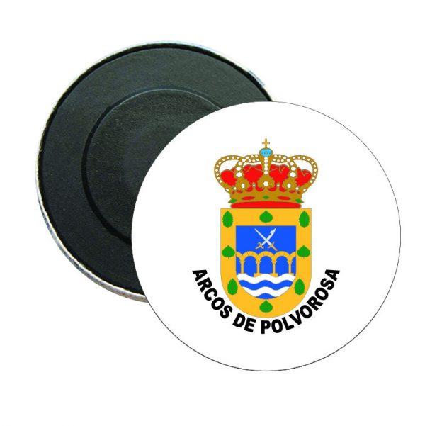 iman redondo escudo heraldico arcos de polvorosa
