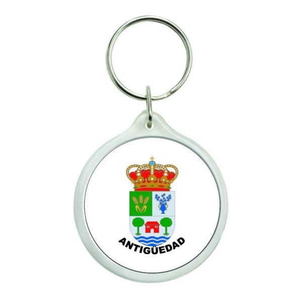 llavero redondo escudo heraldico antiguedad