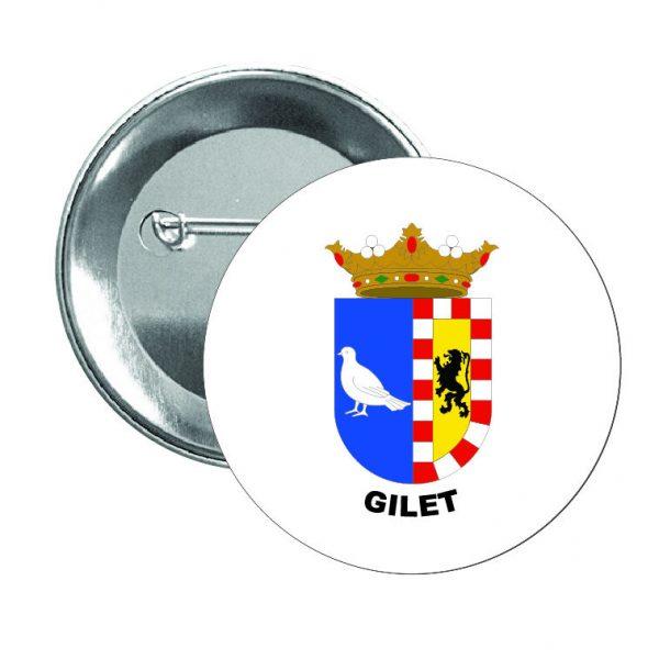 chapa escudo heraldico gilet