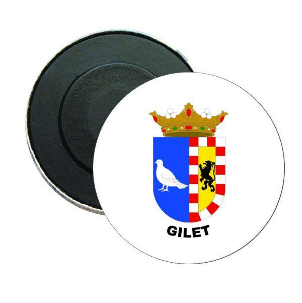 iman redondo escudo heraldico gilet