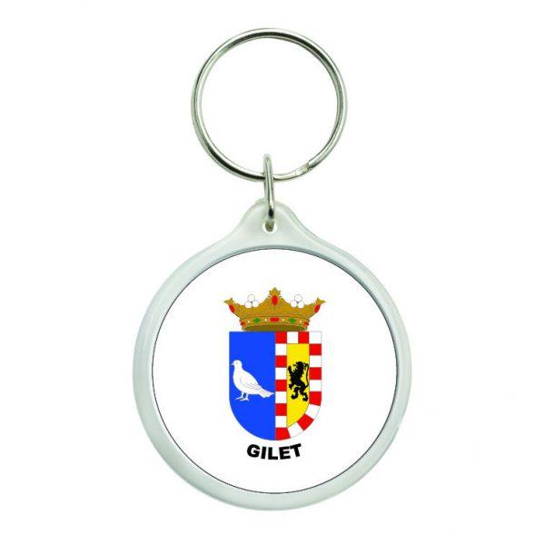 llavero redondo escudo heraldico gilet