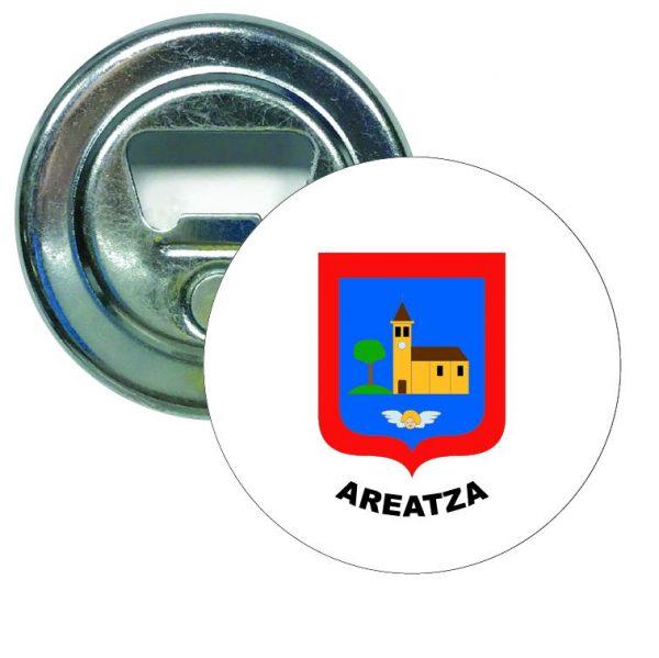 abridor redondo escudo heraldico areatza