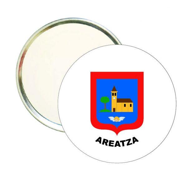 espejo redondo escudo heraldico areatza
