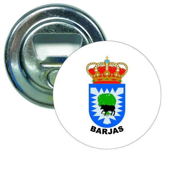 abridor redondo escudo heraldico barjas