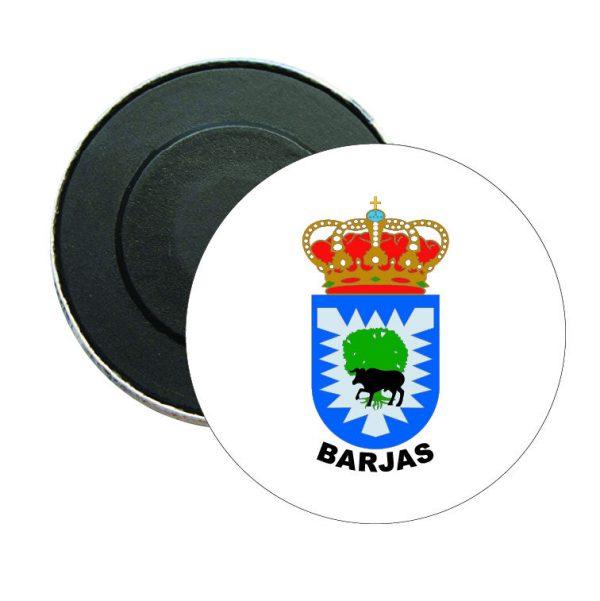 iman redondo escudo heraldico barjas