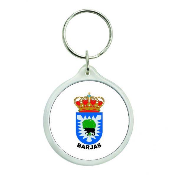 llavero redondo escudo heraldico barjas