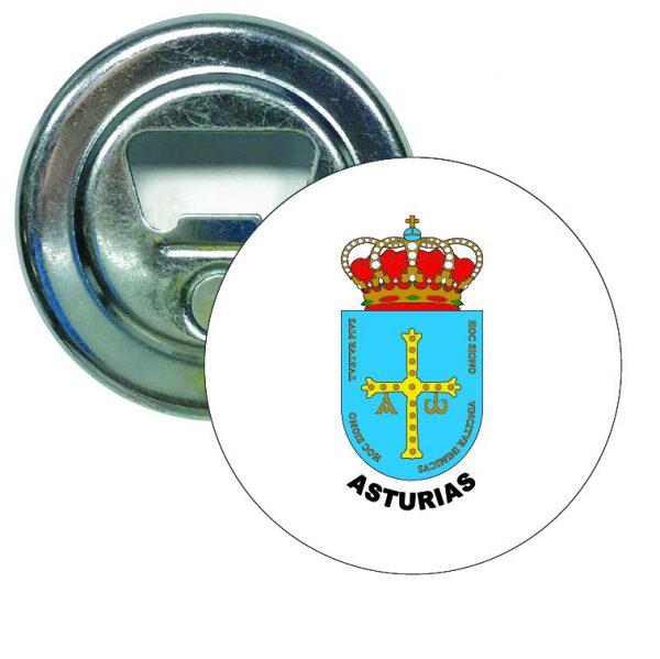 abridor redondo escudo heraldico asturias