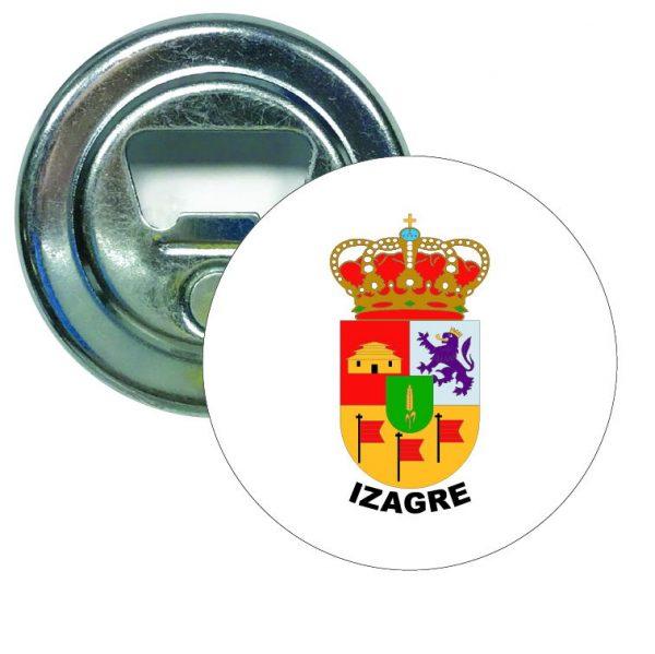 abridor redondo escudo heraldico izagre