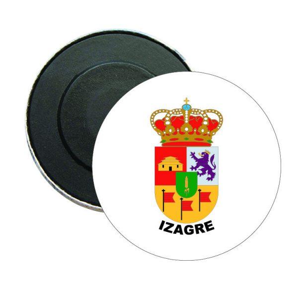iman redondo escudo heraldico izagre