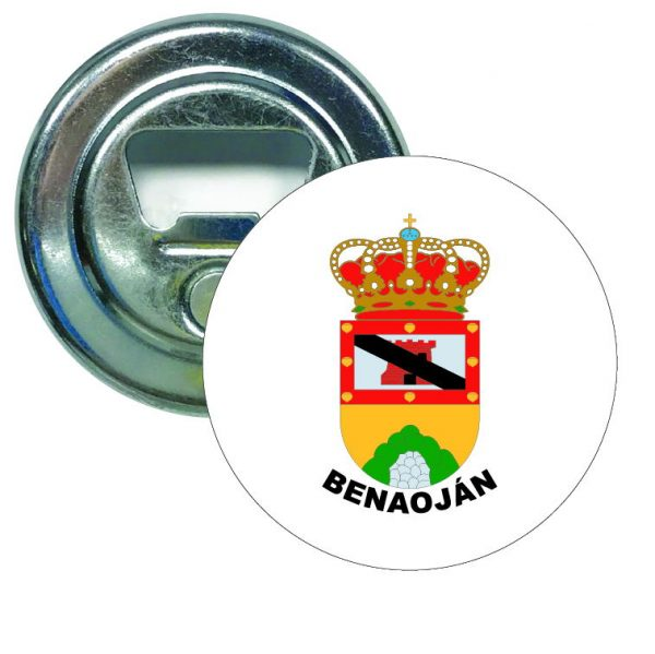 abridor redondo escudo heraldico benaojan