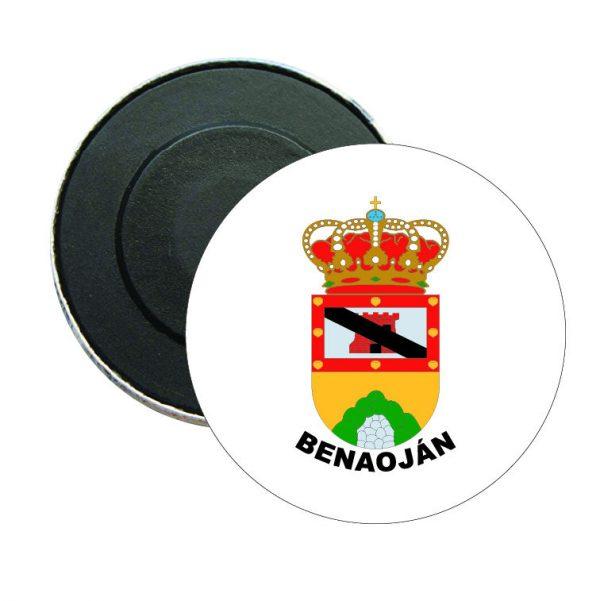 iman redondo escudo heraldico benaojan
