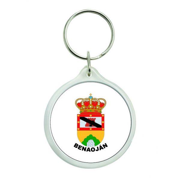 llavero redondo escudo heraldico benaojan