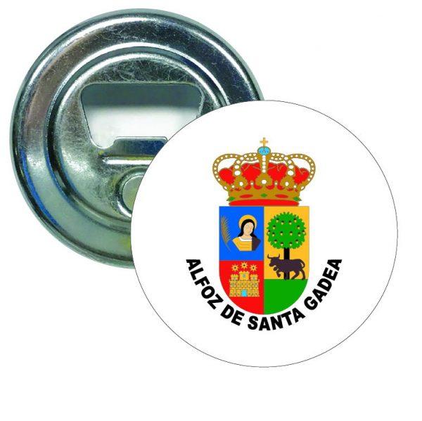 abridor redondo escudo heraldico alfoz de santa gadea