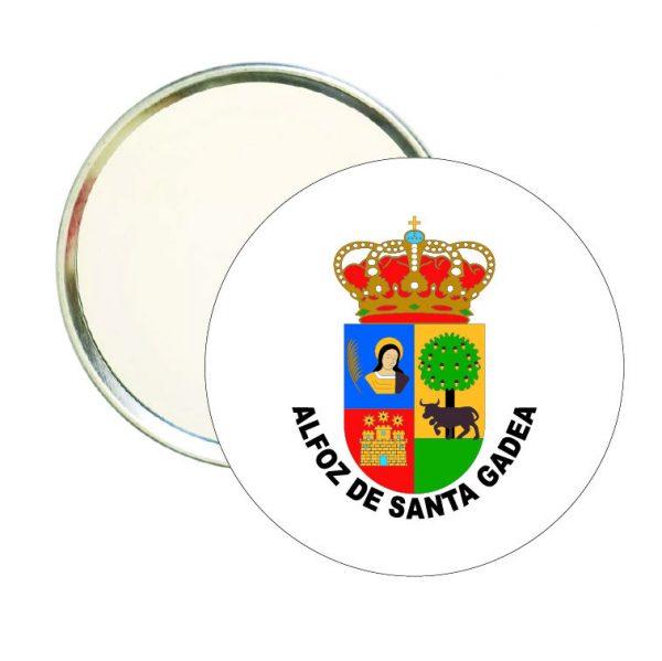 espejo redondo escudo heraldico alfoz de santa gadea