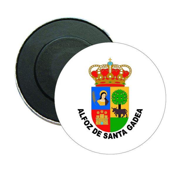 iman redondo escudo heraldico alfoz de santa gadea