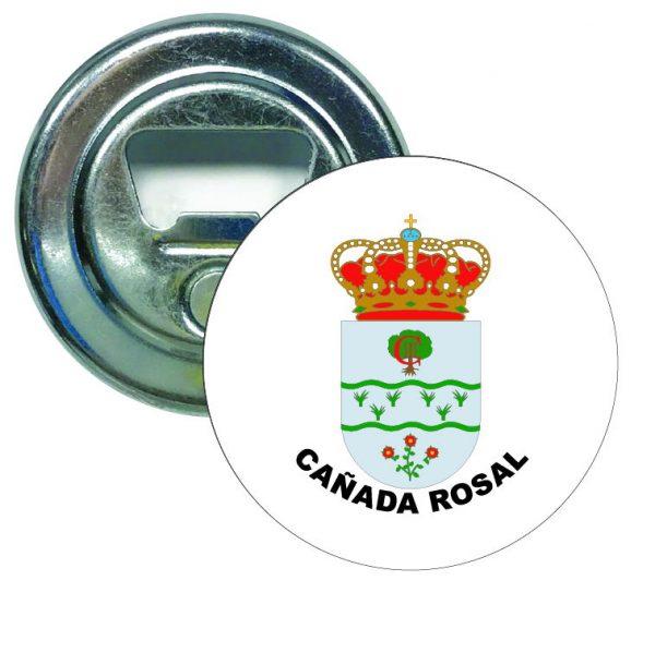 abridor redondo escudo heraldico canada rosal