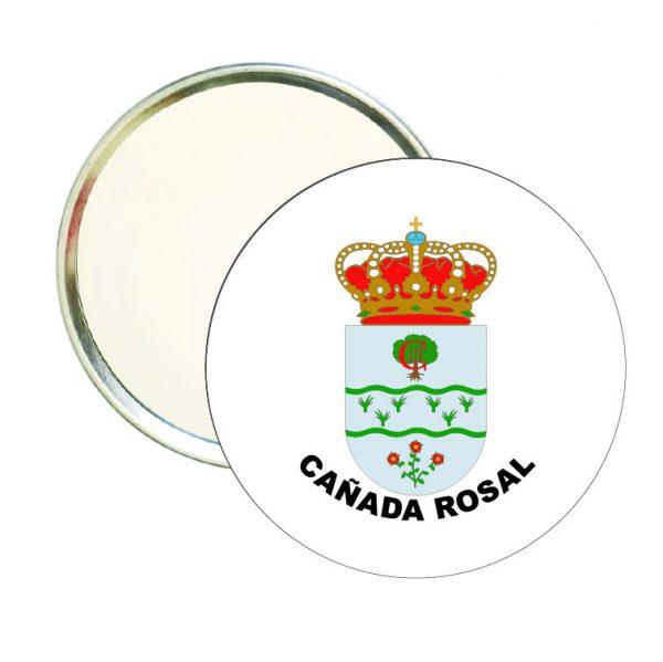 espejo redondo escudo heraldico canada rosal