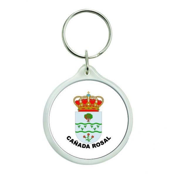 llavero redondo escudo heraldico canada rosal