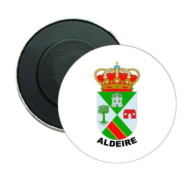 iman redondo escudo heraldico aldeire