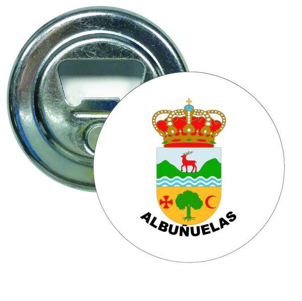 abridor redondo escudo heraldico albunuelas