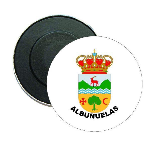iman redondo escudo heraldico albunuelas