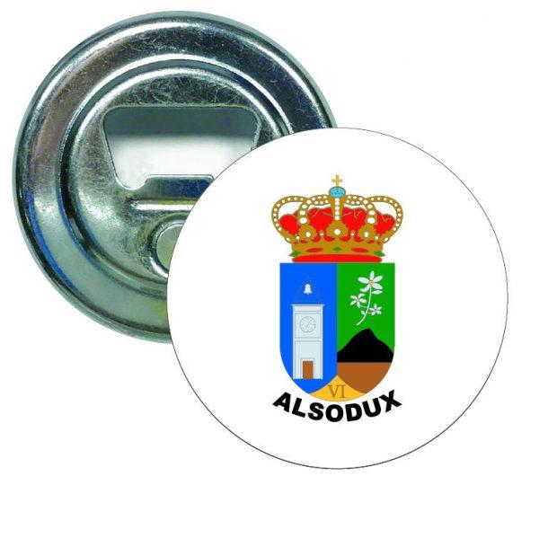 abridor redondo escudo heraldico alsodux
