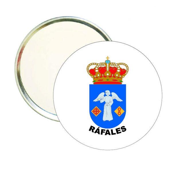 espejo redondo escudo heraldico rafales