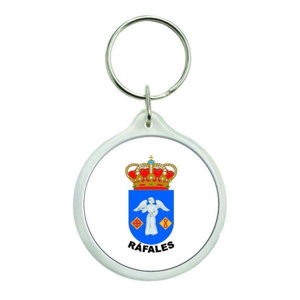 llavero redondo escudo heraldico rafales