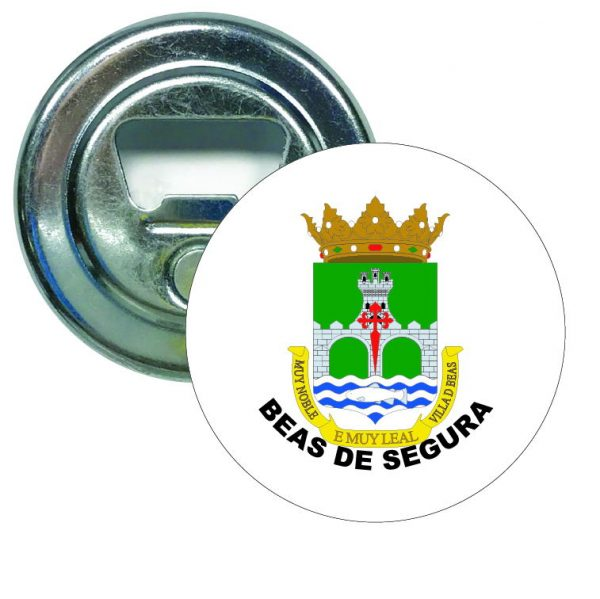 abridor redondo escudo heraldico beas de segura