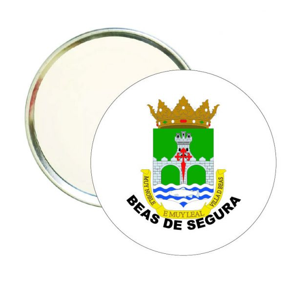 espejo redondo escudo heraldico beas de segura