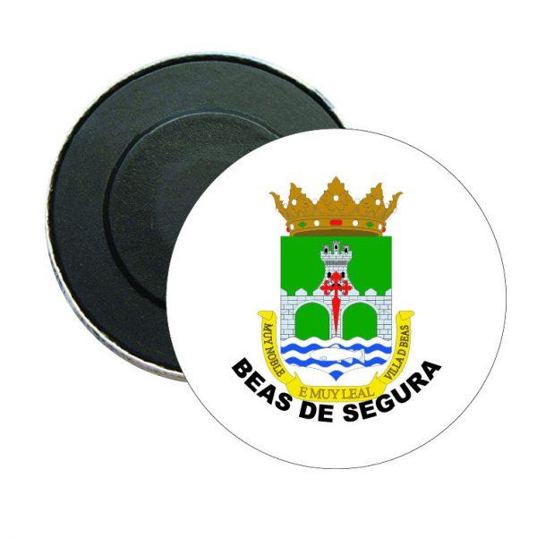iman redondo escudo heraldico beas de segura