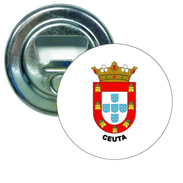 abridor redondo escudo heraldico ceuta