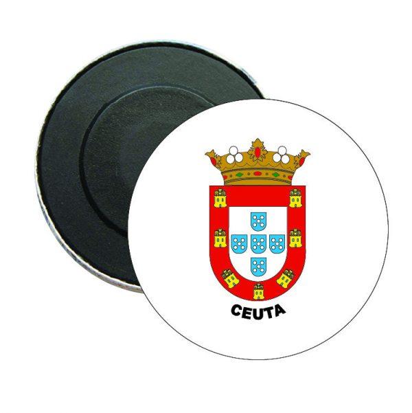 iman redondo escudo heraldico ceuta