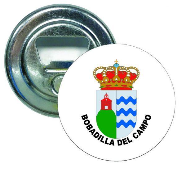 abridor redondo escudo heraldico bobadilla del campo